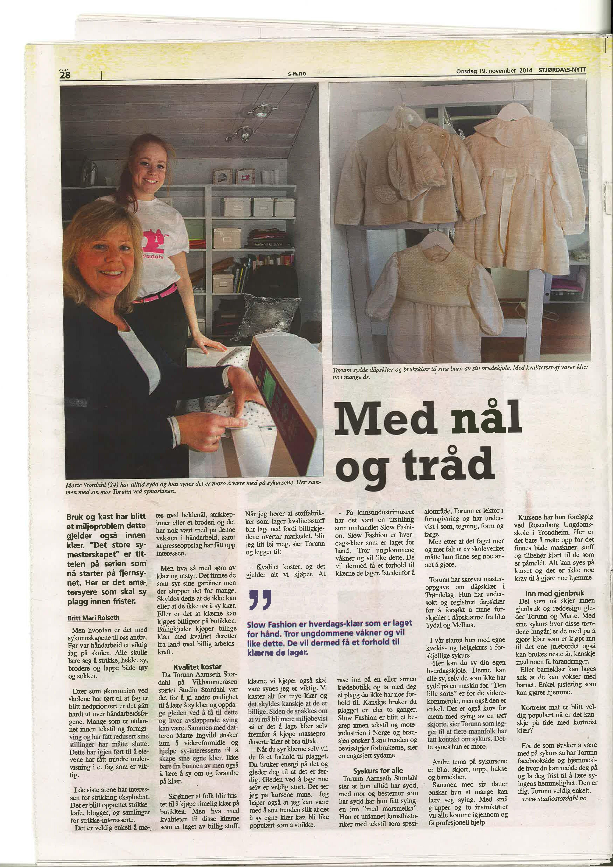 Malvikbladet 19.11.14