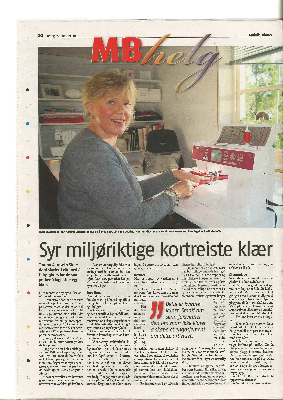 Malvikbladet 25.10.14